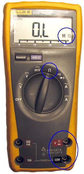 Ohmmeter To Measure Ohms : Ohmmeter electronics
